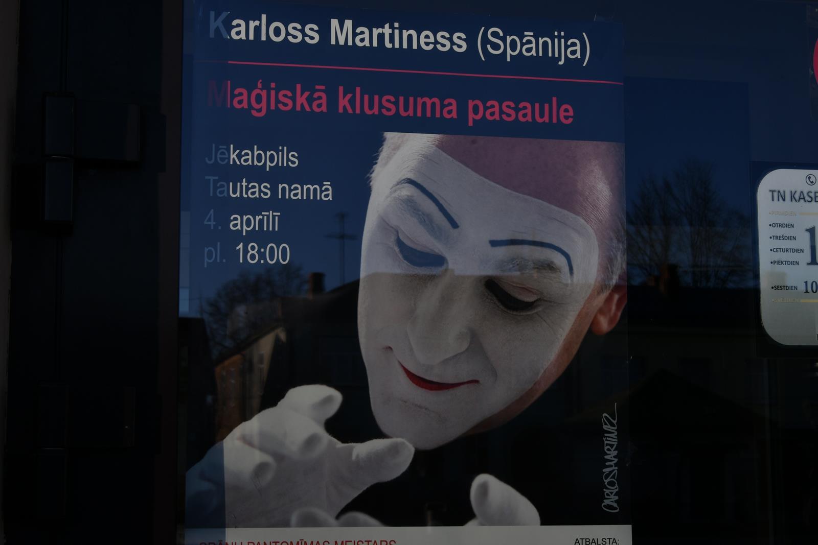 Karloss Martiness Jēkabpilī